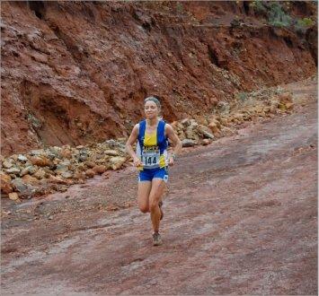 Isabelle Oblet a créé l'exploit hier en devançant deux traileuses de spécialité.