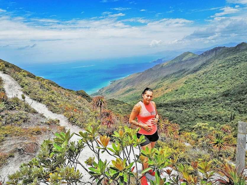 Même enceinte, Angélique Plaire est active. « Au début, j'ai fait le Pic du Midi. A quatre mois, j'ai fait 45 kilomètres de VTT. Et à sept mois, je voulais faire le plateau de Dogny mais Tom, mon compagnon, m'a freinée un peu... »Photo A.P.