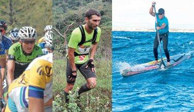 Arnaud Boucher, Damien Boutellier, Titouan Puyo. Autant de sportifs qui ont du succès dans leurs disciplines respectives, mais qui participent pour la première fois à une compétition en eau libre.